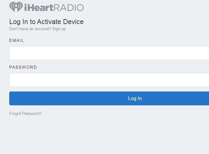 How to Activate iHeartRadio on Roku, Amazon Fire TV and DirecTV
