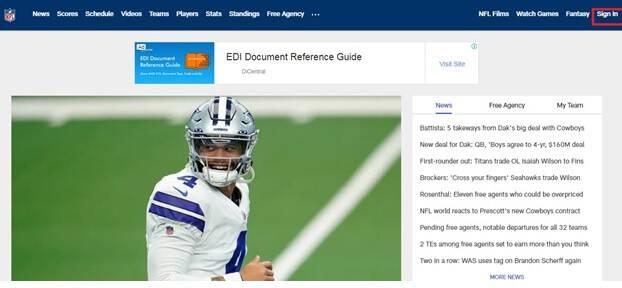 Activate NFL.com Network on Roku, ps4, Xfinity, CBS, Fire tv, Xbox