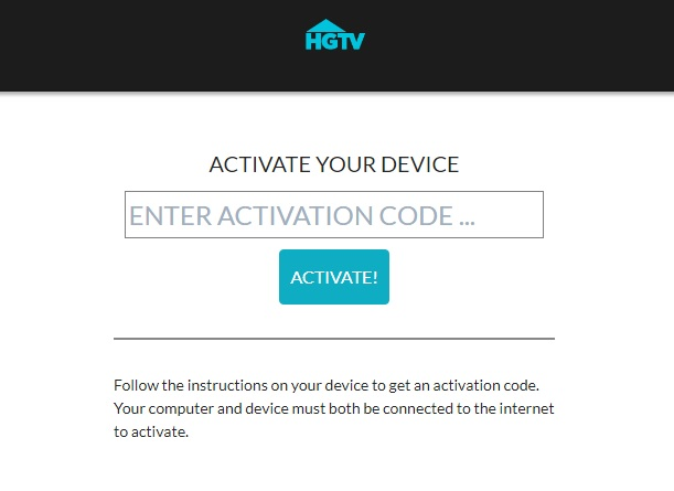 How to Activate HGTV at watch.hgtv.com/activate?