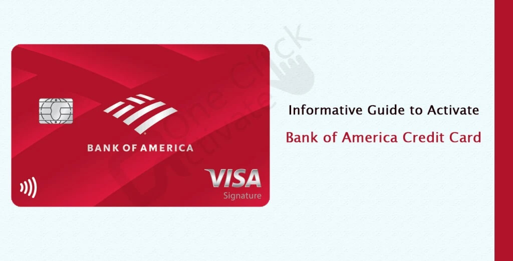 Steps to Activate Your Bank of America Credit Card Online at aaanetaccess.com/activate