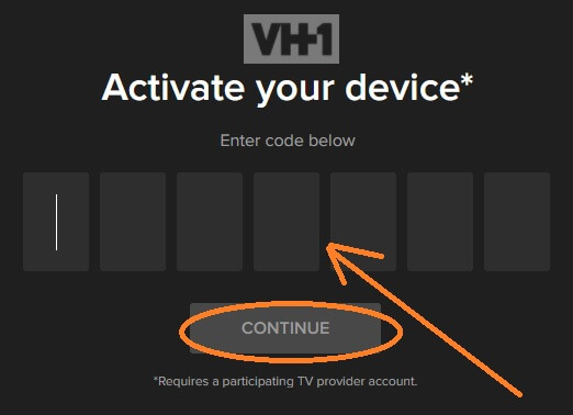 vh1-activation-code